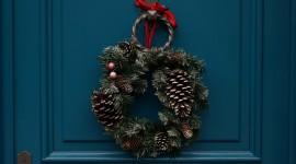 4K Wreaths Desktop Wallpaper HD