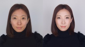 Before After Makeup Wallpaper Background