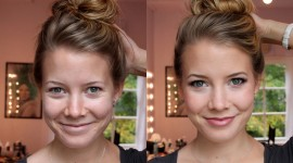 Before After Makeup Wallpaper Download Free