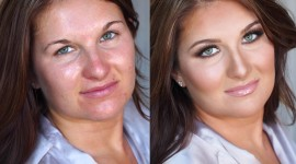 Before After Makeup Wallpaper HD