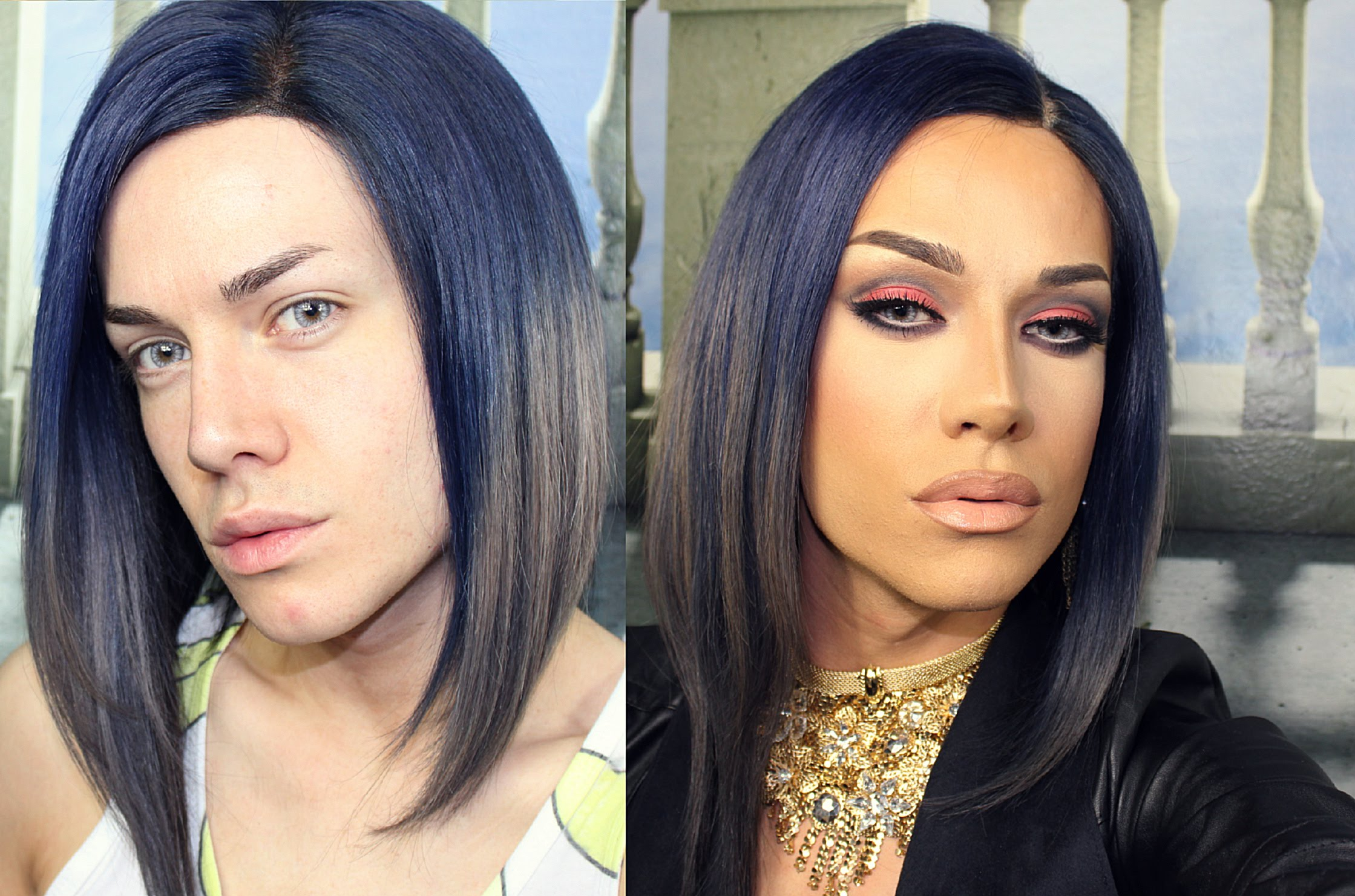 Before After Makeup Wallpapers High Quality Download Free