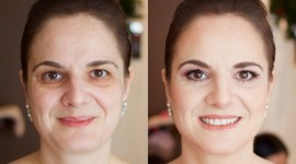 Before After Makeup Wallpaper High Definition