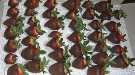 Berries In Chocolate Pics