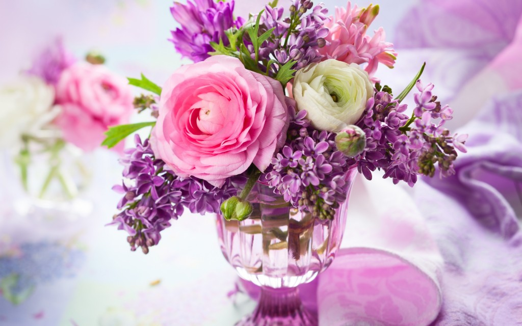 Bouquet In A Vase wallpapers HD