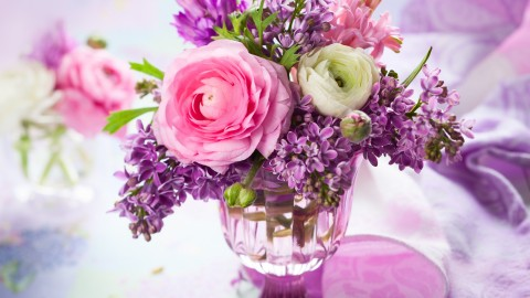 Bouquet In A Vase wallpapers high quality