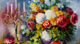 Bouquet In A Vase Image