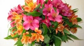 Bouquet In A Vase Wallpaper 1080p