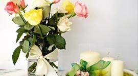 Bouquet In A Vase Wallpaper Download
