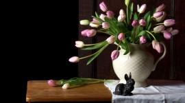 Bouquet In A Vase Wallpaper Full HD