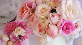 Bouquet In A Vase Wallpaper HQ