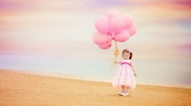 Children With Balloons Wallpaper Gallery