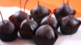 Chocolate-Covered Cherries Wallpaper For PC