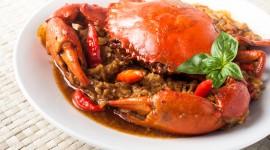 Crab Dishes Desktop Wallpaper