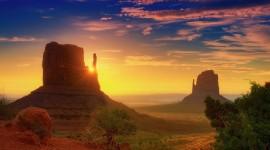 Dawn In The Desert Wallpaper For PC