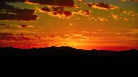 Dawn In The Desert Wallpaper Free