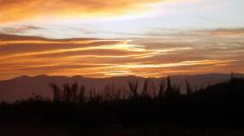 Dawn In The Desert Wallpaper HQ