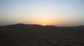Dawn In The Desert Wallpaper#2