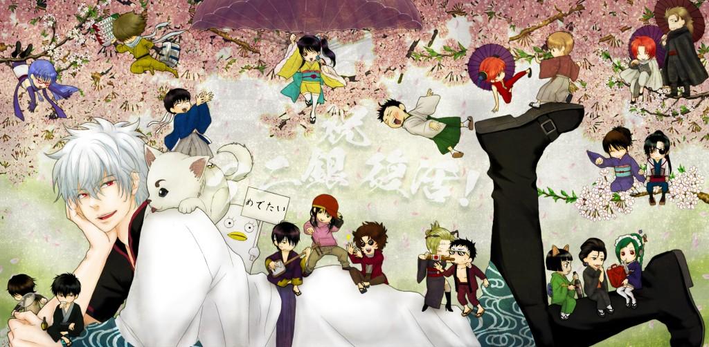 Gintama wallpapers HD