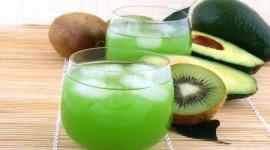 Kiwi Juice Wallpaper