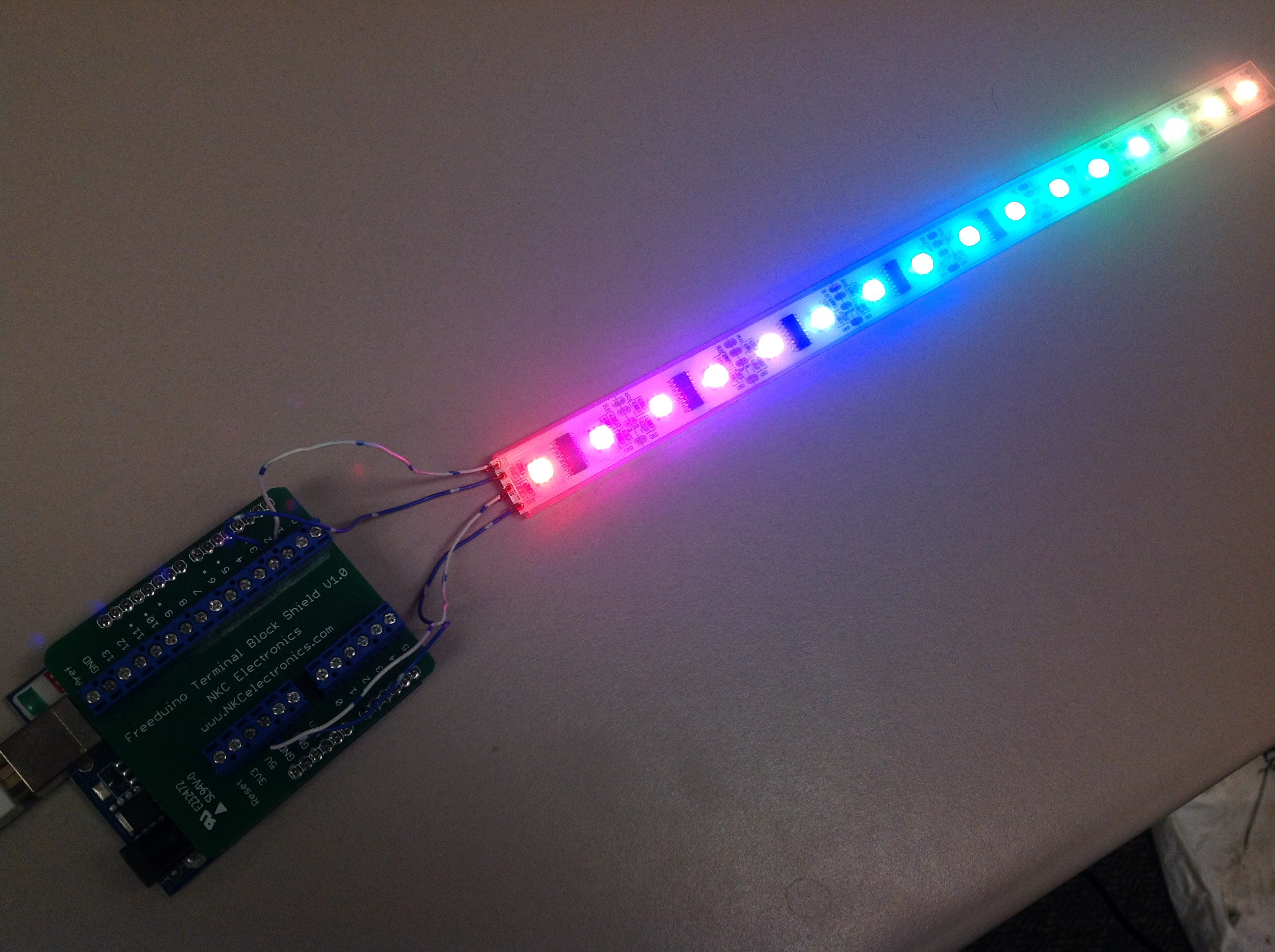 microcontroller - Rotating POV LED Cylinder Using