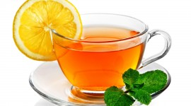 Lemon Tea Wallpaper