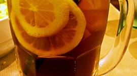 Lemon Tea Wallpaper For IPhone