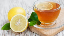 Lemon Tea Wallpaper Full HD