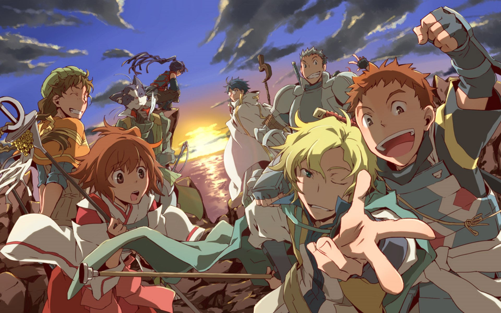 Log Horizon Nureha Log Horizon Wallpapers...