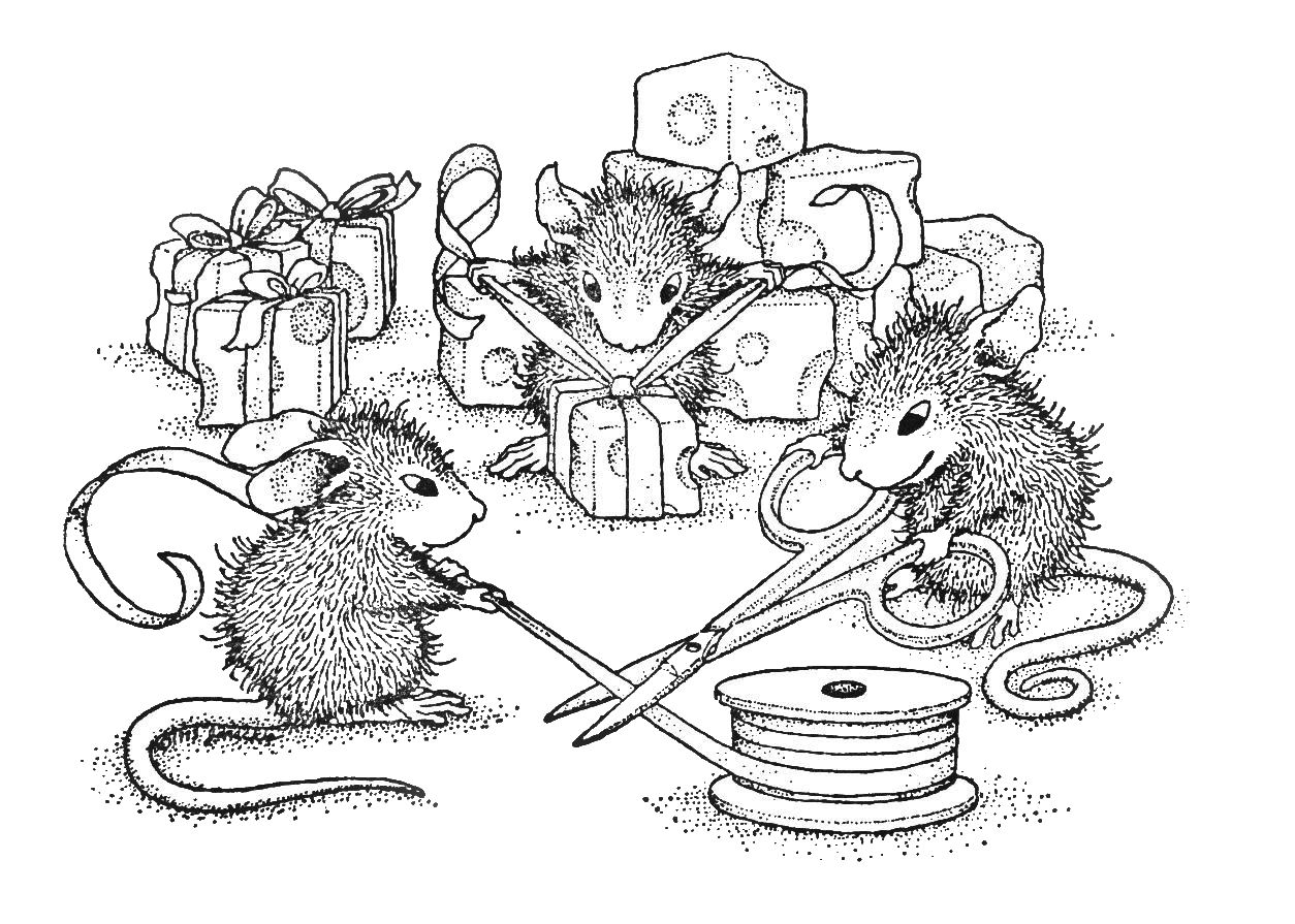 Coloring pages of a mouse ~ Mouse In The House Wallpapers High Quality | Download Free