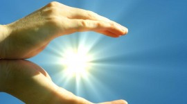 The Sun In The Hands Wallpaper Gallery