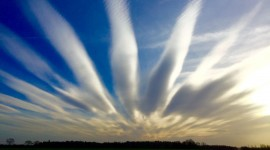 The Unusual Shape Of The Clouds Photo Free