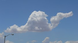 The Unusual Shape Of The Clouds Photo#1