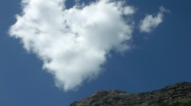 The Unusual Shape Of The Clouds Photo#5