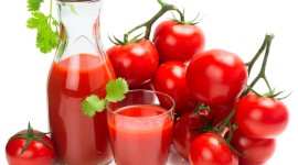 Tomato Juice Wallpaper Full HD
