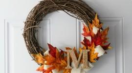 Wreaths Wallpaper