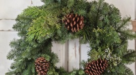 Wreaths Wallpaper For IPhone Free