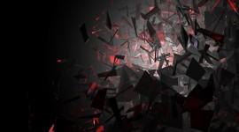 4K Broken Glasses Wallpaper 1080p