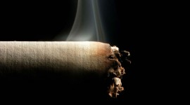 4K Cigarette Smoke Wallpaper