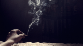 4K Cigarette Smoke Wallpaper For PC