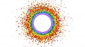 4K Circles Wallpaper 1080p