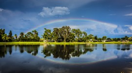 4K Rainbow Photo Download