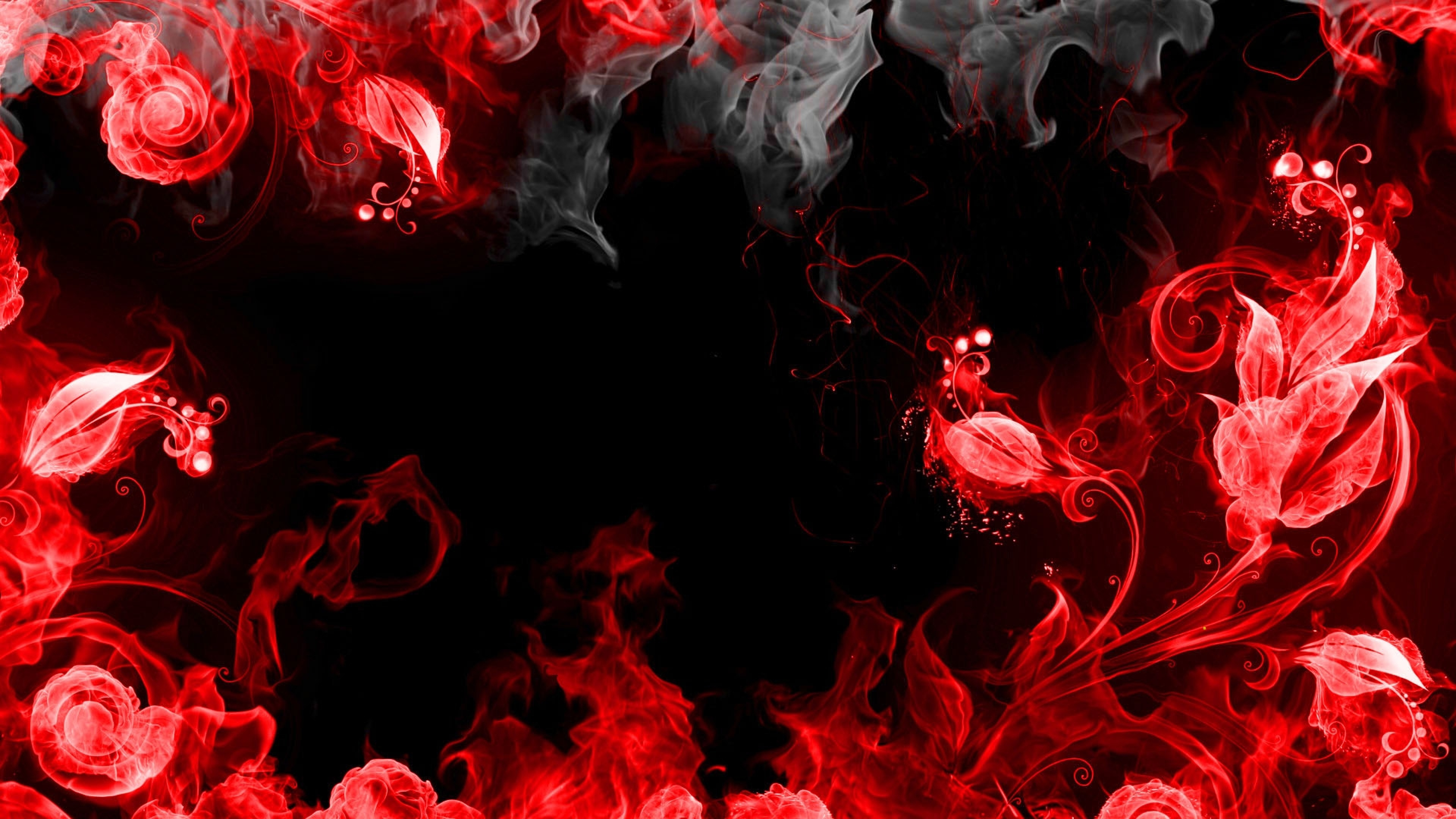 4k red wallpapers high quality download free - Cool red and black wallpapers ...