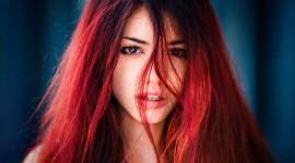 4K Redhead Desktop Wallpaper HD