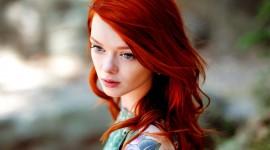 4K Redhead Photo Free
