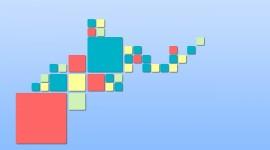 4K Squares Image Download