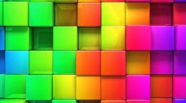 4K Squares Wallpaper For PC