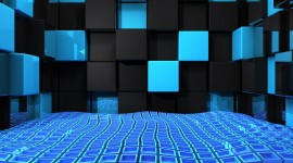 4K Squares Wallpaper Gallery