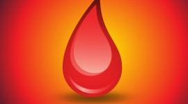 A Drop Of Blood Image