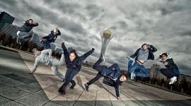 Acrobatic Break Dance Wallpaper Free