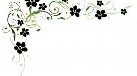 Black Flowers Image Download